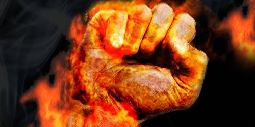 immolation par le feu en Tunisie
