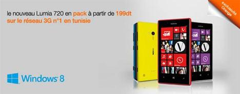 lumia 720 chez orange tunisie